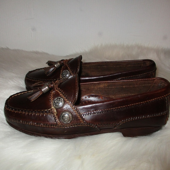 ce1630132f2 Cole Haan Shoes - Vintage New Cole Haan Tassel Loafers w Conchos NEW